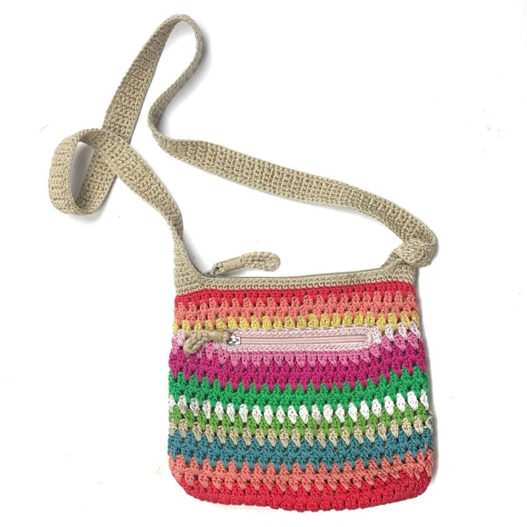 The Sak Bags Rainbow Crossbody Bag Crochet Handbag Poshmark